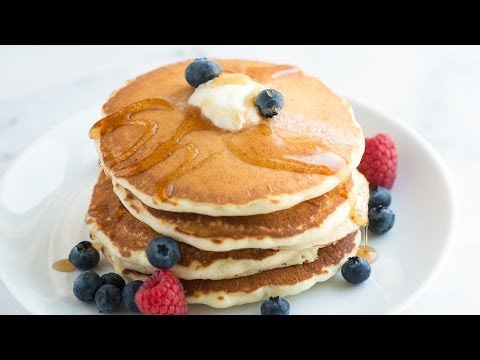 Essential Pancake Recipe - Homemade Pancakes Recipe