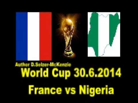 World Cup 30.6.2014  France vs Nigeria