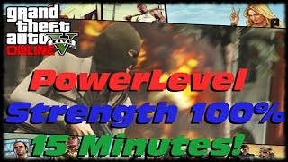 GTA 5 Online How To Powerlevel Boost Your Strength Stats