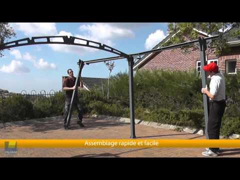Arcadia 5000 Kit Abri de Voiture Robuste & Esthétique FR