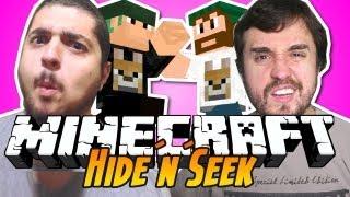 Minecraft - Hide N Seek: A CURA DA AIDS!