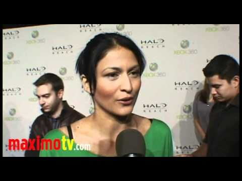 TINSEL KOREY on Breaking Dawn at XBOX 360 Launch of HALO: REACH