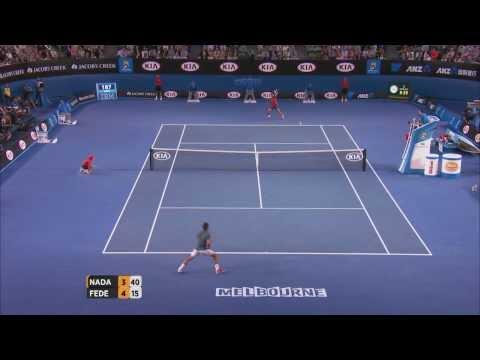 Nadal v Federer highlights (semifinal) - 2014 Australian Open