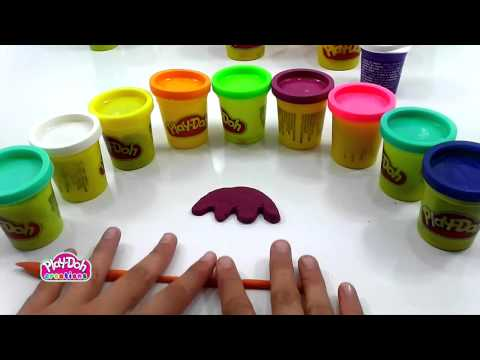 How to make a Fruit Tree with Play Doh Toy 720p