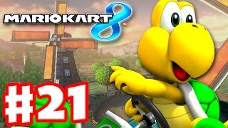 Mario Kart 8 - Gameplay Part 21 - 150cc Shell Cup (Nintendo Wii U Walkthrough)