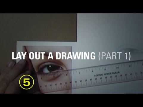 How to lay out a drawing - Part 1 of 2