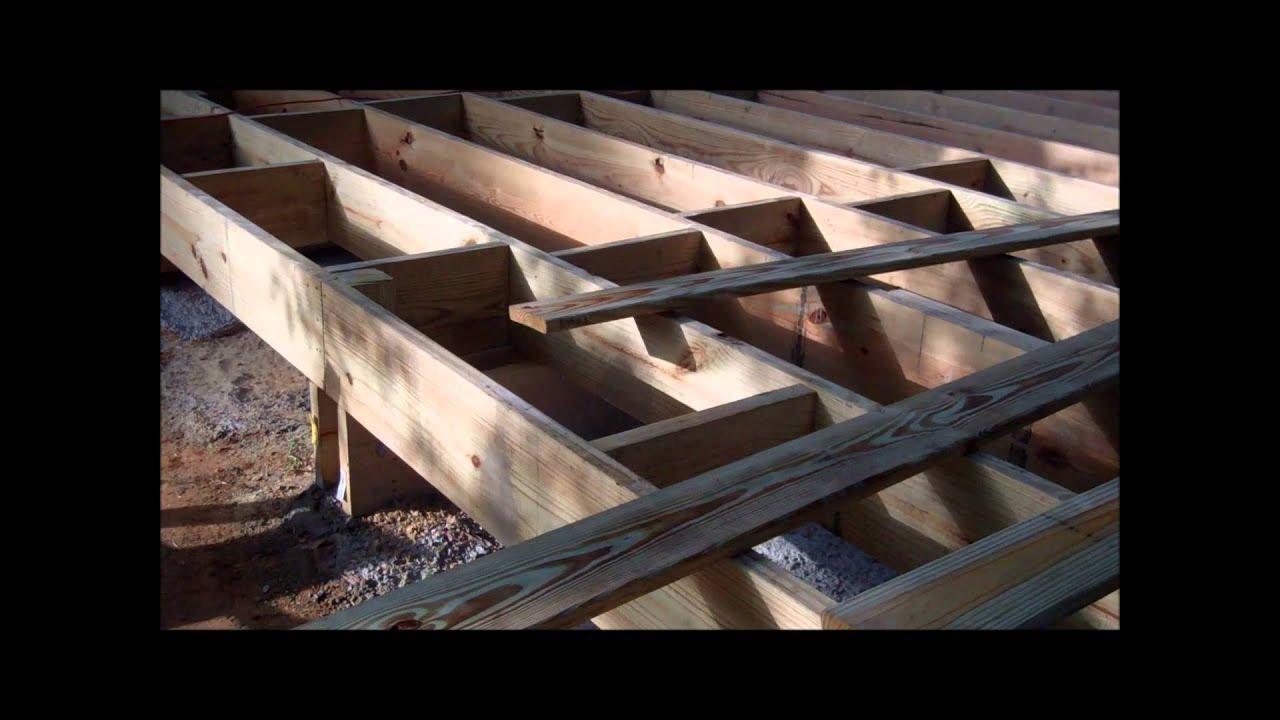 Dise o y construcci n de un deck en madera arq david sosa - Construccion casas de madera ...