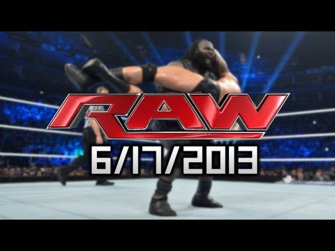 WWE RAW - 6/17/2013 - PPV Fallout, BEST RAW OF THE YEAR!?! F5's + MARK HENRY RETIRING!?!