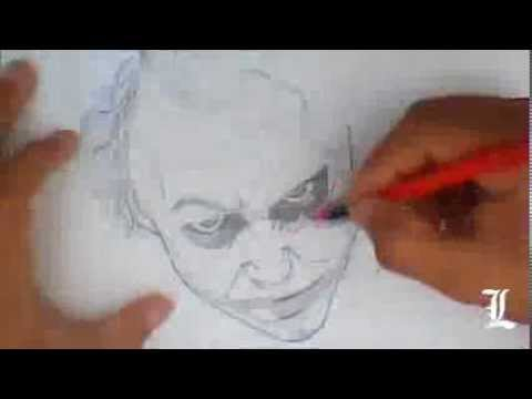 Drawing Joker - Desenhando Coringa (Filme Batman)