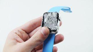 Blue Apple Watch Sport 42mm Drop Test! - Duration: 3:41.