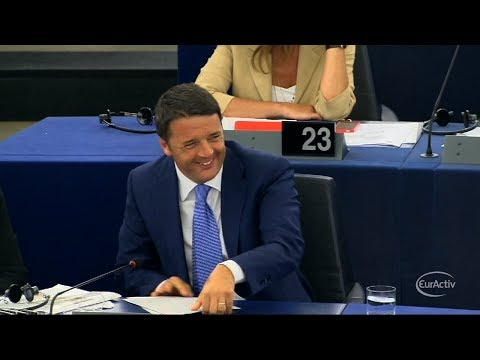 "Renzi: Europe's ""selfie"" would show a tired face"