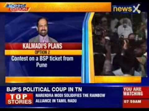 Suresh Kalmadi to clear his stand on Pune Lok Sabha seat today