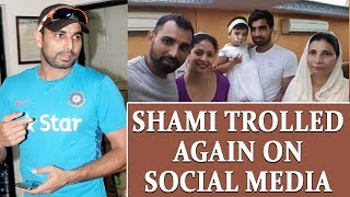 Mohammed Shami trolled again on social media for daughter'..