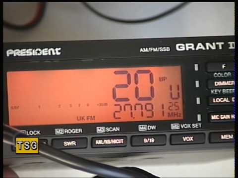 President Grant II Mk2, UK/EU (CE-Multi) AM/FM/SSB CB Radio (Mobile) - Overview & field test