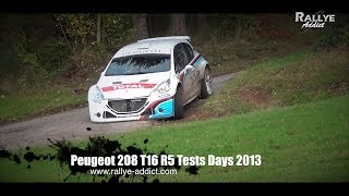 Vidéo Peugeot 208 T16 R5 Tests Days 2013 [HD]