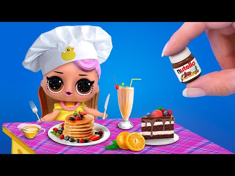 DIY Miniature Food аnd Drinks / Miniature Real Cooking