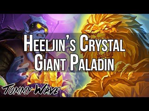 Heeljin's Crystal Giant Paladin - Hearthstone Decks
