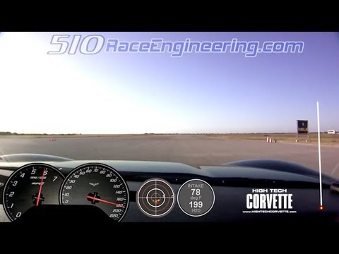 182mph Z06 - 510 Race Engineering - Texas Mile