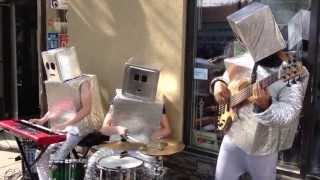 Robot Street Musicians: Daft Punk
