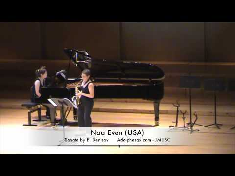 3rd JMLISC Noa Even (USA) Sonate by E. Denisov