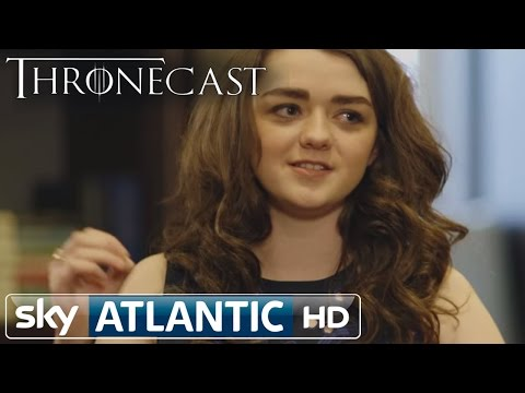 Thronecast - Maisie Williams (Arya Stark) Interview Season 4 Part 2