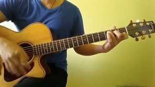 All Of Me John Legend Easy Guitar Tutorial (No Capo