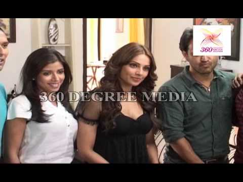 Bipasha Basu promotes her upcoming film Aatma on the sets of Star Plus Show