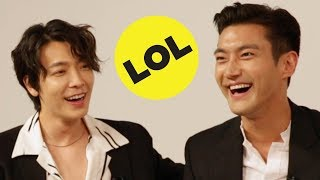 Super Junior Plays Would You Rather
