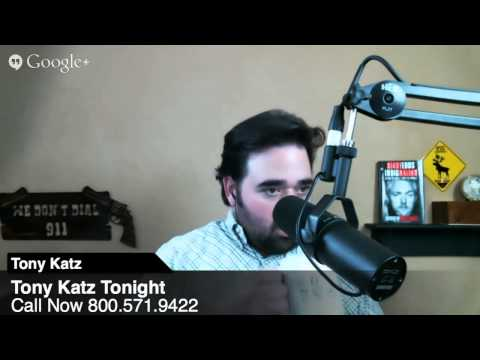 Tony Katz Tonight Radio Show - 12/13/13 - Colorado, Kansas and Violence