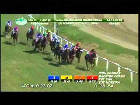 Vidéo de la course PMU PREMIO MISS PINKY 2012