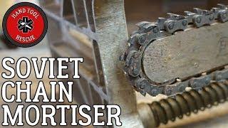 Soviet Chain Mortiser [Restoration] (Part 2 of 2)