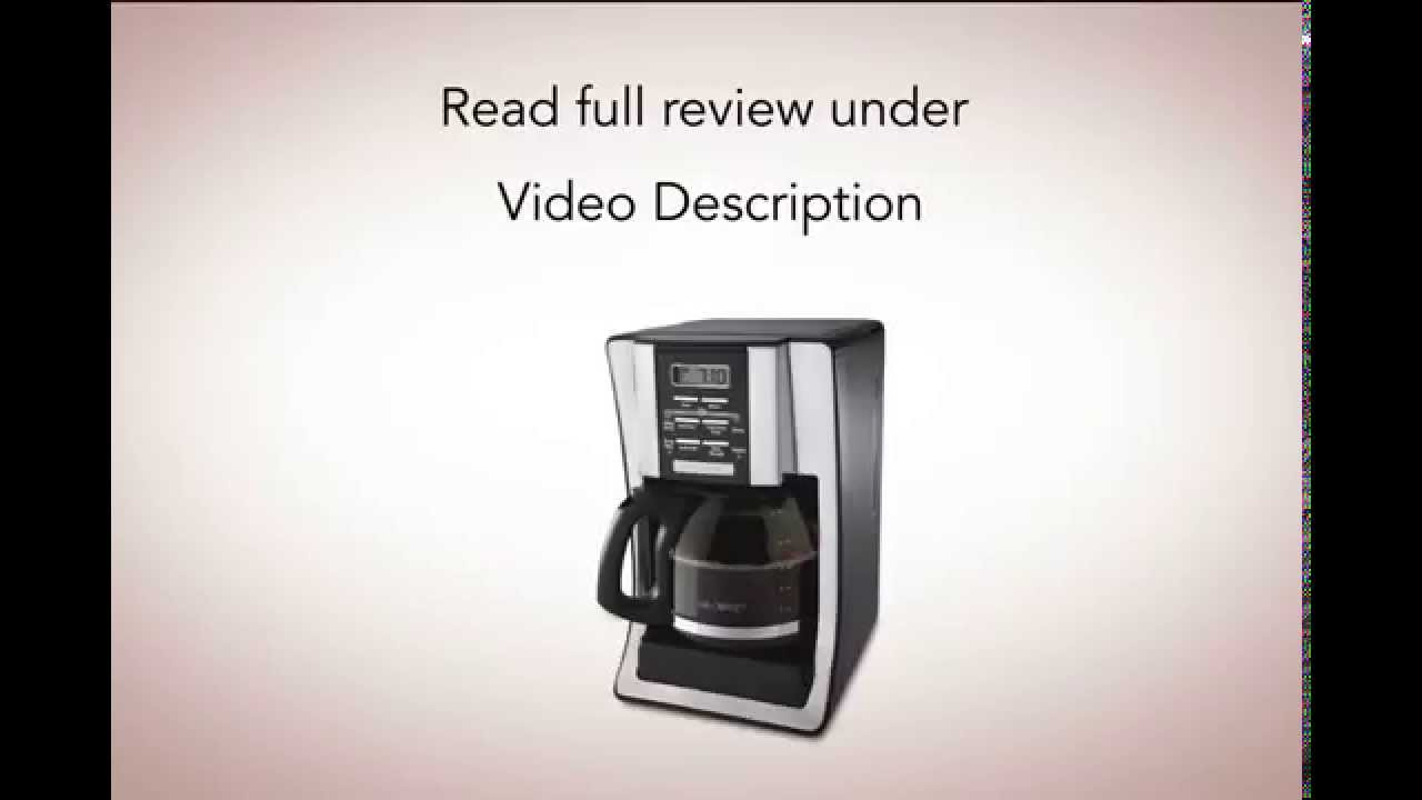 Mr Coffee BVMC SJX33GT 12 Cup Review - YouTube