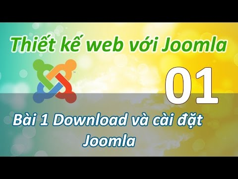 Joomla - 01 Cai dat Joomla
