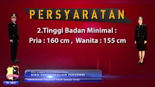 PENERIMAAN ANGGOTA POLRI SUMBER SIPSS T.A. 2014