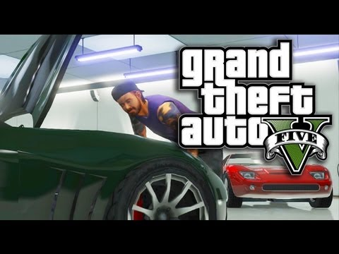 GTA 5 Online - How To Get Online & Customize Your Character (GTA V),