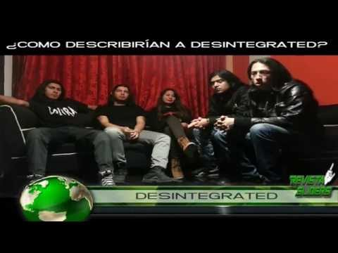 DESINTEGRATED Entrevista para REVISTA SLIDERS desde Colombia
