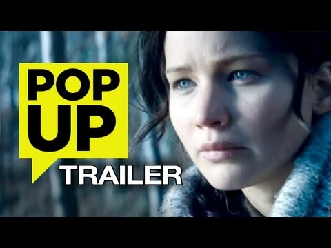 The Hunger Games: Catching Fire Pop-Up Trailer (2013) - Jennifer Lawrence Movie HD
