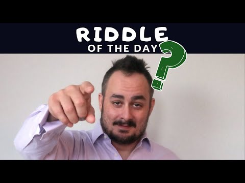 Riddle of the Day: Jan. 17, 2020