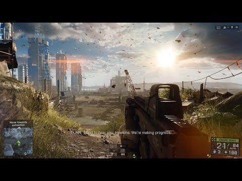 Battlefield 4 (PC) - Fishing in Baku - 1st Campaign Mission Ultra