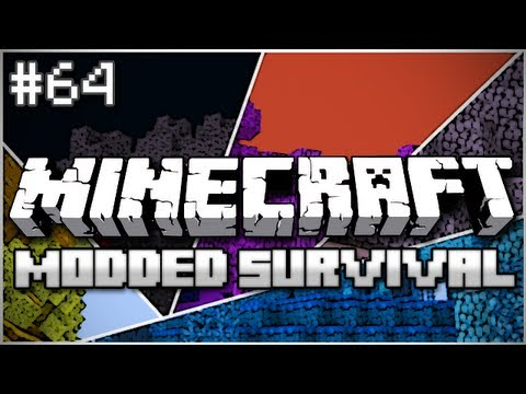 Minecraft: Modded Survival Let's Play Ep. 64 - Release the Kraken
