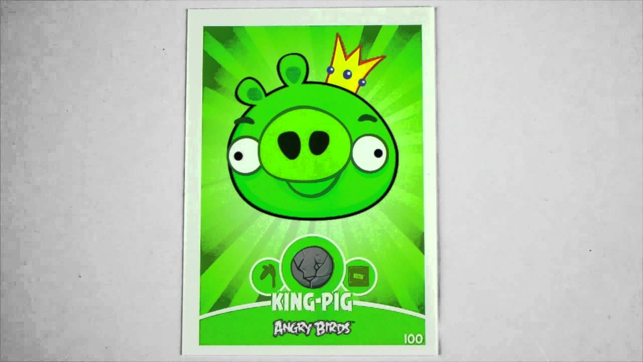 Angry birds trading cards anleitung