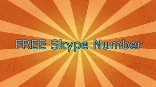 How To Get A Free Skype In Number
