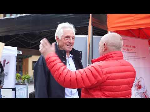 Prima edizione della granfondo Top Dolomites calciatori ortholab scarico scherma capsuliti