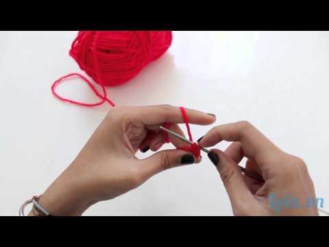 Hướng dẫn móc vòng tay len