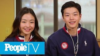 Olympic Ice Dancing Siblings Alex & Maia Shibutani: 'What Sets Us Apart Makes Us Unique' | PeopleTV