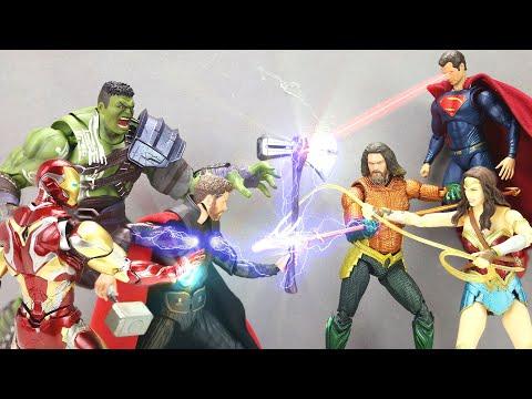 LEGO Avengers vs Justice League Funny Episode