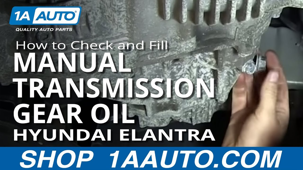 How To Check And Fill 5 Speed Manual Transmission Gear Oil