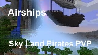 Minecraft Pirate Ship In Port Dawn PVP Factions Server