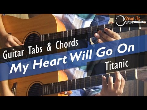 My Heart Will Go On Guitar Lesson - How To Play My Heart Will Go On -