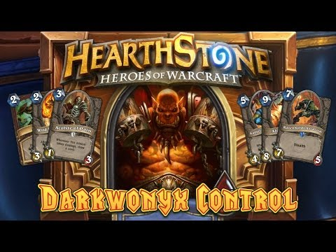 how to make a control deck in hearthstone